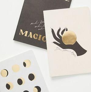 NWT  Anthro Cocorrina You Are Magic Journals 3 set